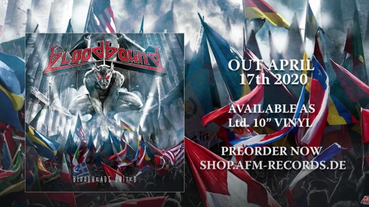 【メタル情報】BloodBoundの新譜、Bloodheads Unitedがリリースされました・・・が!